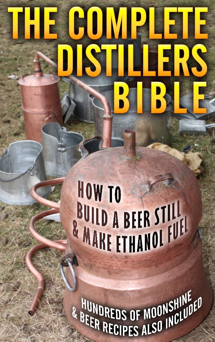 Very good book showing directions on how to make, beer, whisky, stills, moonshine, you name it and there is a recipe for it in here