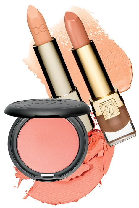 peach: Fall Hairstyles, Long Last Lipsticks, Soft Colors, Beautiful, Get The Looks, Blushes, Fall Makeup, Faces Powder, Lips Colors