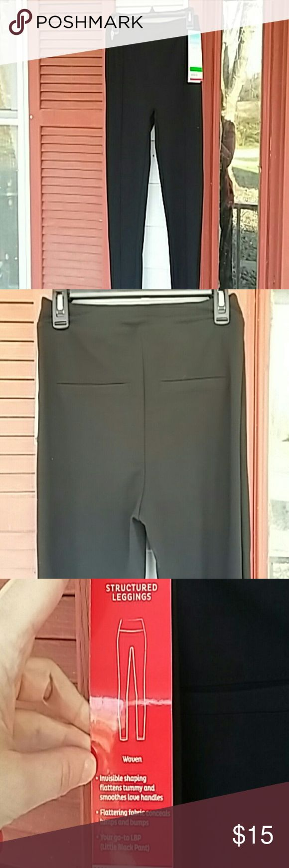 Assets by Spanx leggings. Black,new with tags leggings from Spanx. Polyester blend. SPANX Pants Leggings