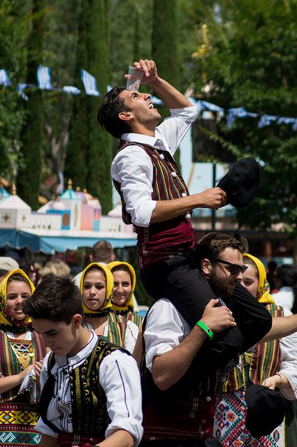 Specialty Greek entertainment during Opa! A Celebration of Greece (May 26). Photo by #JonYork