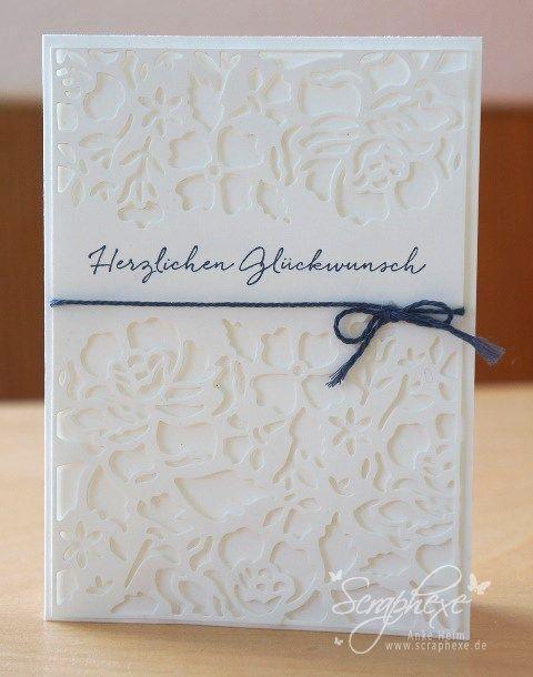 Floral greetings, wedding, Stampin 'Up !, scraphexe.de