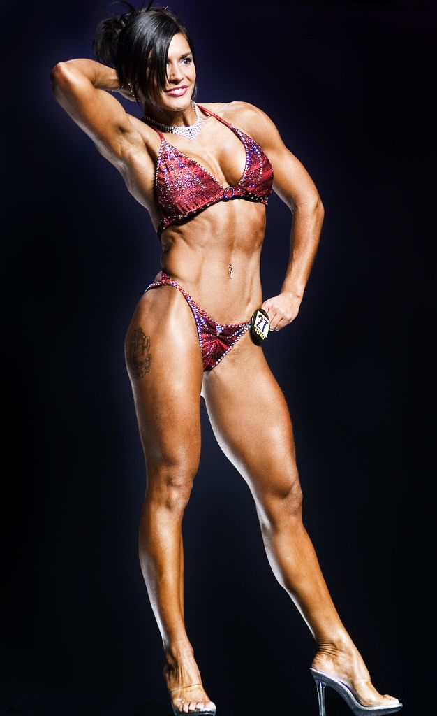 "https://flic.kr/p/sVk3K | Fitness competition | ...in the 5'4"" and smaller category"