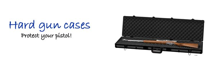 I know! And there are different materials for a gun case. You may opt for the aluminum for better protection. Mine is safely kept in an aluminum gun case.  #guncase