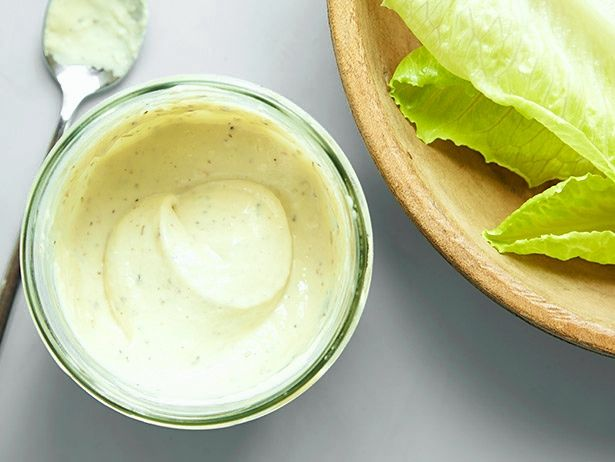 Greek Yogurt Caesar Dressing recipe from Food Network Kitchen via Food Network