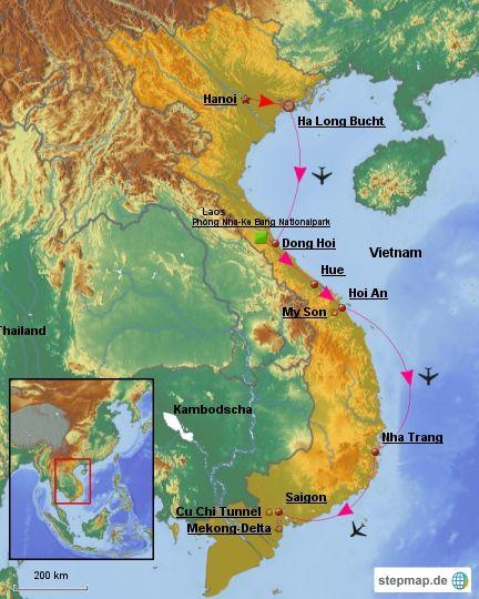 Vietnam in 15 Tagen
