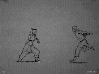 Korra test animation