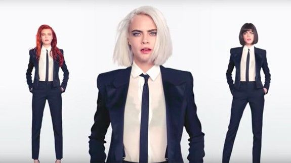 "Cara Delevingne makes a lot of awkward eye contact in her music video for ""I Feel Everything"""