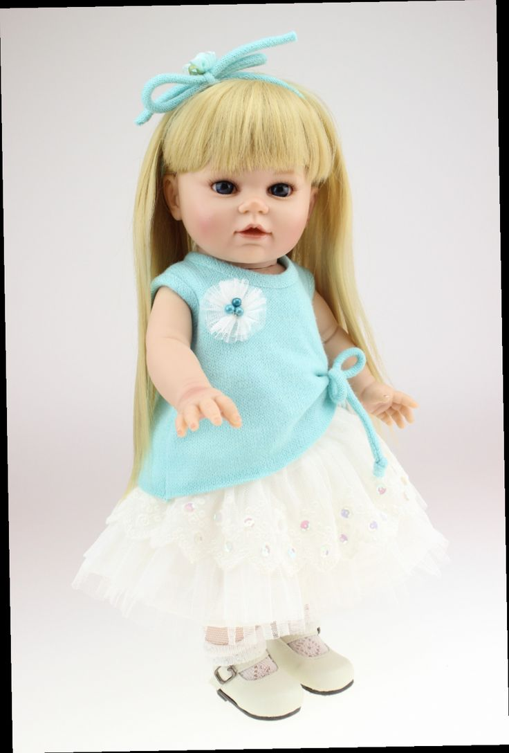 Full body silicone baby for sale 2015 - Cheap Doll Brooch Buy Quality Doll Directly From China Doll Girl Toy Suppliers New 2015 Hot Sale 16 Inch Lovely Lifelike Reborn Baby Dolls Real Full Body