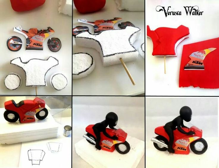 301 moved permanently for Motorbike template for cake