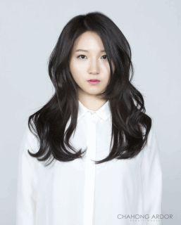 See-Through Bold perm #long #hair #beauty #cut #chahongardor