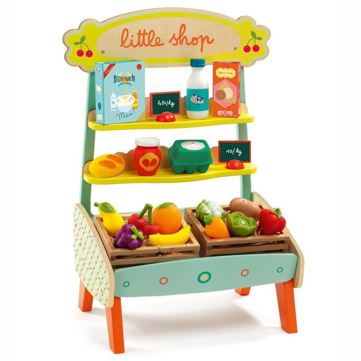 Djeco Little Shop Fruit Stand