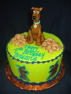 Scooby Doo cake