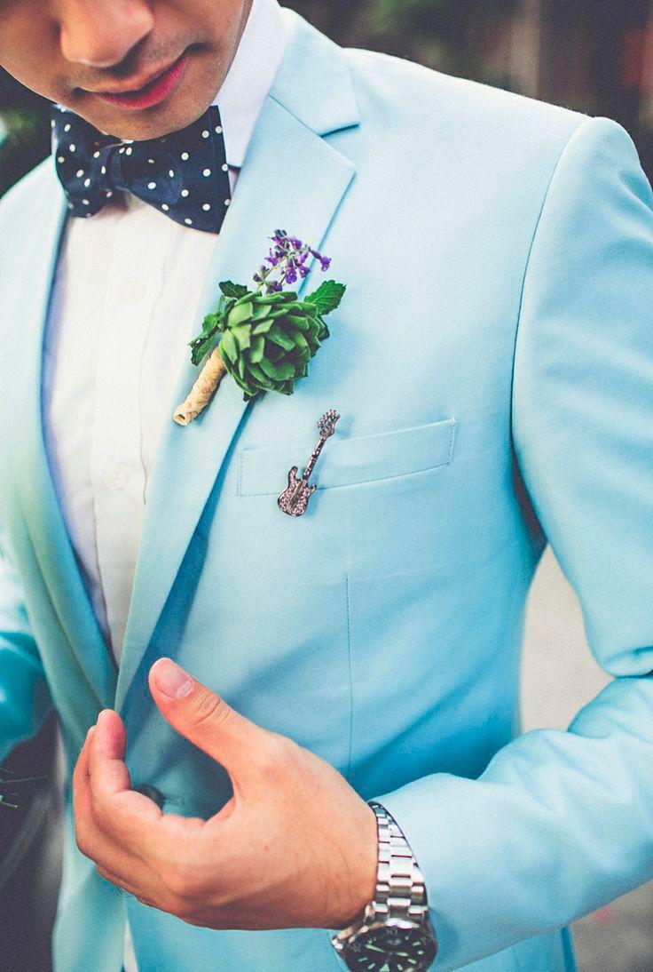 love-my-dress entre los perfectos trajes de novio modernos de color