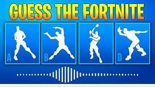Guess The Fortnite Dance Name By The Sound Music 2 Fortnite