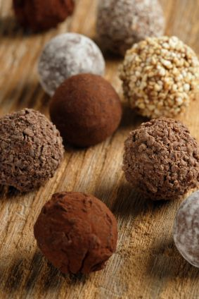 Homemade Chocolate Truffles!  Yes Please :)