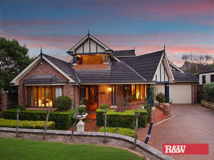 Photo of a brick house exterior from real Australian home - House Facade photo 1599840