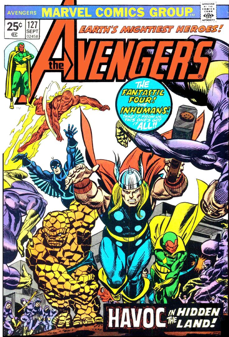 The Avengers (1963) Issue #127 - Read The Avengers (1963) Issue #127 comic online in high quality