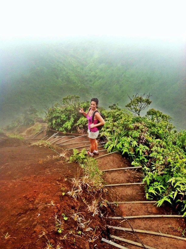 #TroveOn #Hawaii My absolute favorite hike on O'ahu. Discovered by Sparkz at Wiliwilinui Ridge, Honolulu, Oahu, #Hawaii #travel