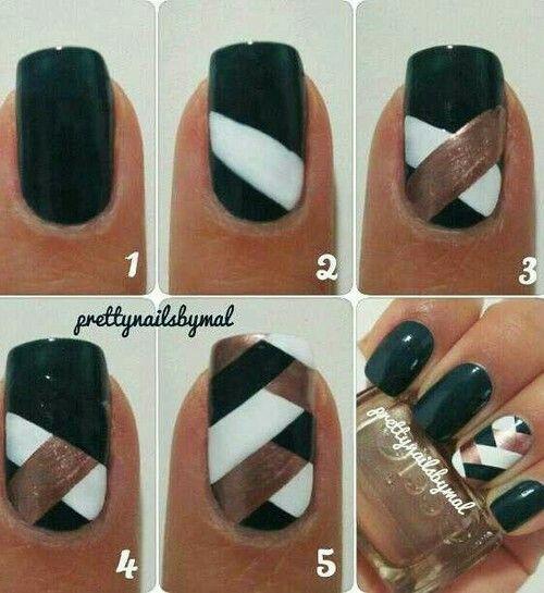Fishtail Braid Nail Polish One Finger
