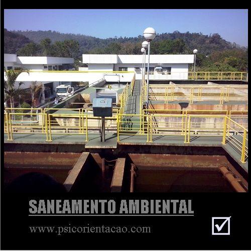 SANEAMENTO AMBIENTAL – Tratamento, monitoramento da poluição, construção de sistemas e redes de água, esgoto, lixo.        Atuação: Empresas