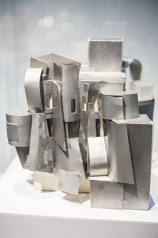 Frank Gehry, centre pompidou, maquette, Frederick R. Weisman Art and teaching Museum,©catherinevernet