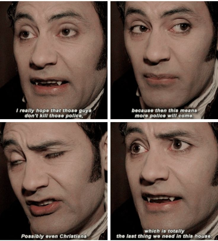 Taika Waititi as Viago in What We Do in the Shadows
