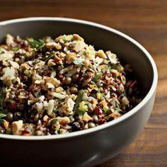 Quinoa/Lentil Protein Bowl (42g protein!)