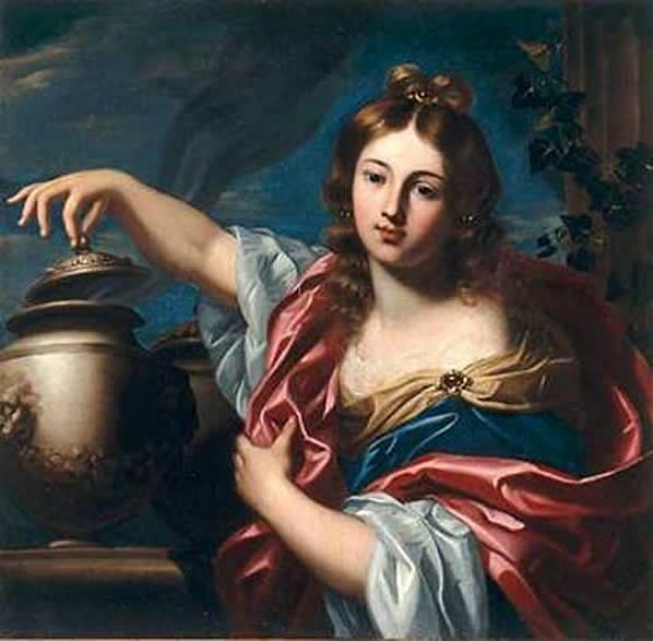 best pandoras box images pandoras box greek  pandora by nicolas regnier