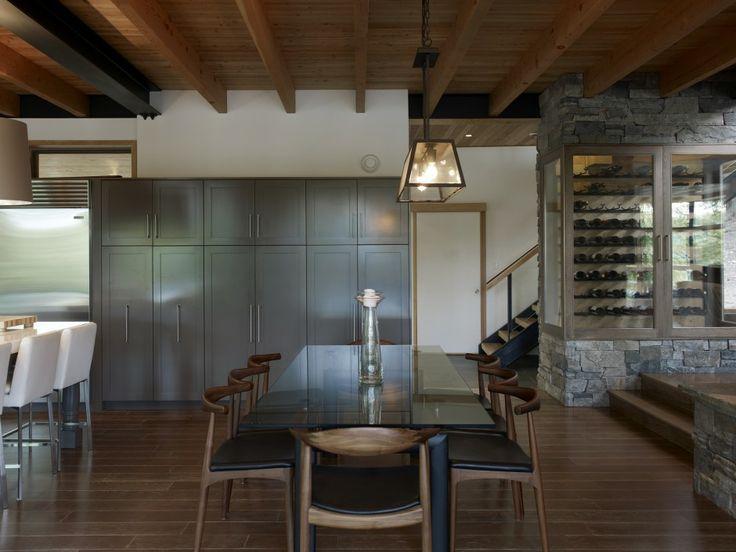 Altius Architecture Inc : Lake Joseph Cottage - dining. www.altius.net