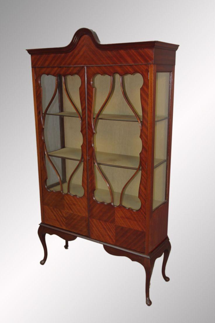 SOLD Antique Mahogany China Cabinet Dining RoomsDining