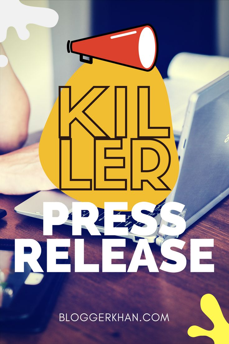 Press Releases can be used as a strong marketing tool that can promote your business and grow your customer base. Read more to write a real killer press release to your business here: http://bloggerkhan.com/10-tips-to-write-a-great-press-release/18877?utm_campaign=crowdfire&utm_content=crowdfire&utm_medium=social&utm_source=pinterest   #bloggerkhan #pressrelease #marketing #marketingtips #marketingstrategy #marketingplan #marketingonline #marketingguru #marketingexpert