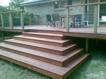 Sunshine Coast Decking Stairs, Hardwood And Timber Stairs