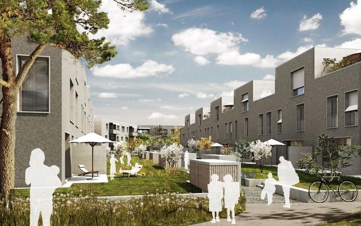 "New housing development ""schorenstadt"" - Burckhardt+Partner"