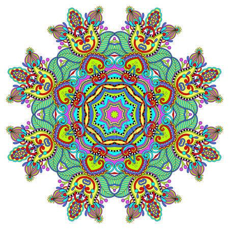 Скачать - Круглый декоративный геометрический образец для дизайна моды йоги — стоковая иллюстрация #55963387