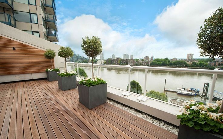 This astounding apartment liveson the Chelsea embankment, part of a development which includes Robbie Williams, Sir Michael Caine and Tom Stoppard among its former residents.   Guide price: 3.95 Million