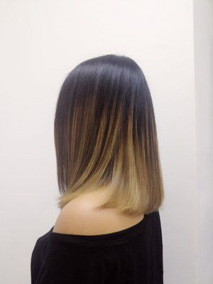 ash brown ombre short hair - Google Search