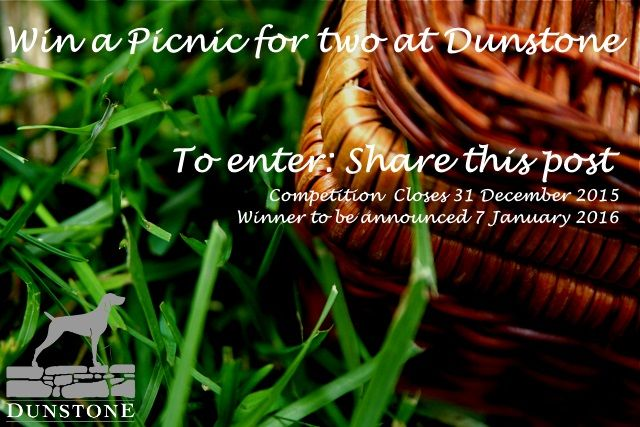 Win a #Picnic at Dunstone. Simply Like our Facebook or Twitter page and repost to enter.