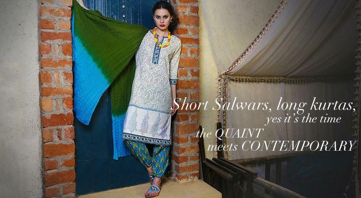 Short Salwar and Long Kurtas