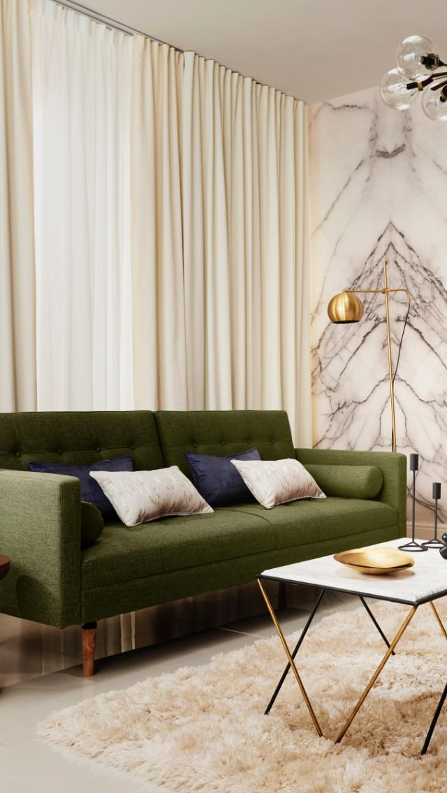 #livingroom #IWANTTHATSTYLE #hillarysblinds #brief #minimalistic #minimalism #lu…  – Gold decor