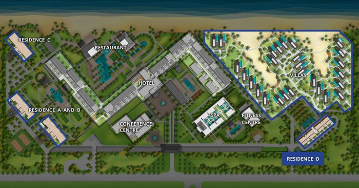 master plan hotel resort - Google Search