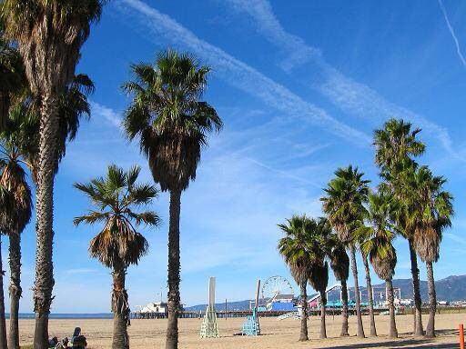 Санта Моника пляж. Приезжайте в Лос Анжелес и закажите частный тур на сайте: www.imidglab.ru