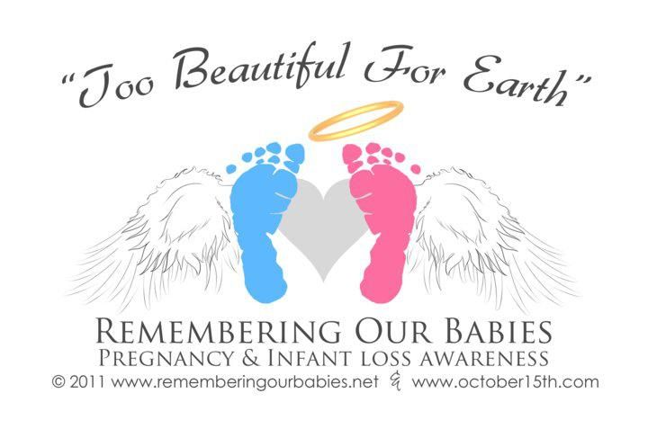 Pregnancy and Infant Loss Awareness, would love to plant a memorial tree someday.