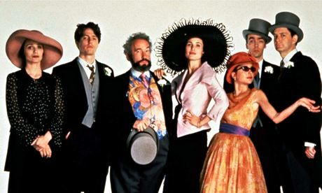 Four Weddings and a Funeral 20 years on: Richard Curtis remembers - one of my favourite movies ever.