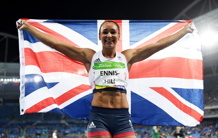 Jessica Ennis-Hill: Silver in the heptathlon (13 August)