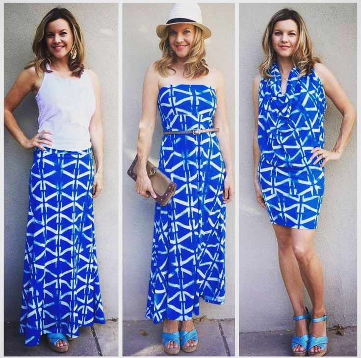 How to wear the maxi three different ways