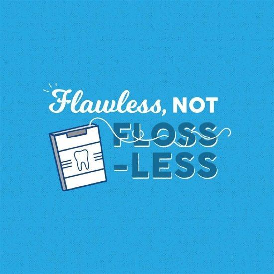 Dentaltown - Are you Flawless, or Floss-Less? Keep your smiles flawless by always having some dental floss on hand!
