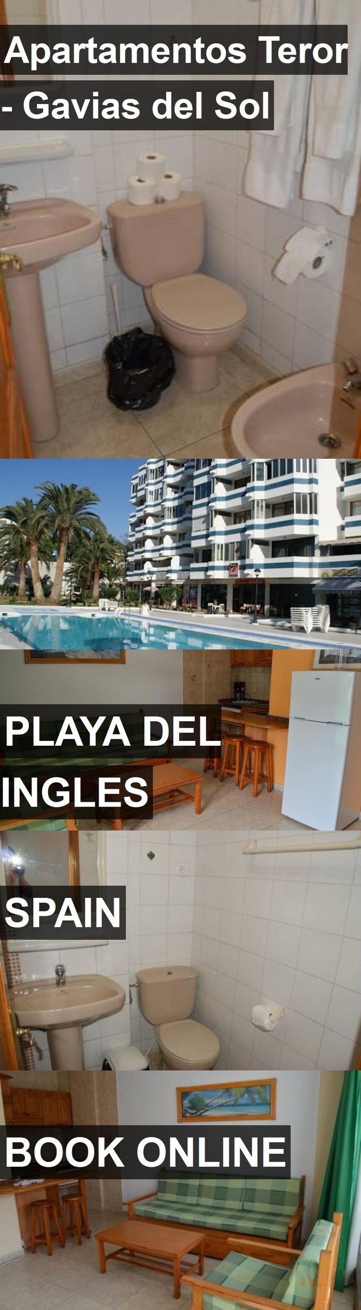 Hotel Apartamentos Teror - Gavias del Sol in Playa del Ingles, Spain. For more information, photos, reviews and best prices please follow the link. #Spain #PlayadelIngles #travel #vacation #hotel