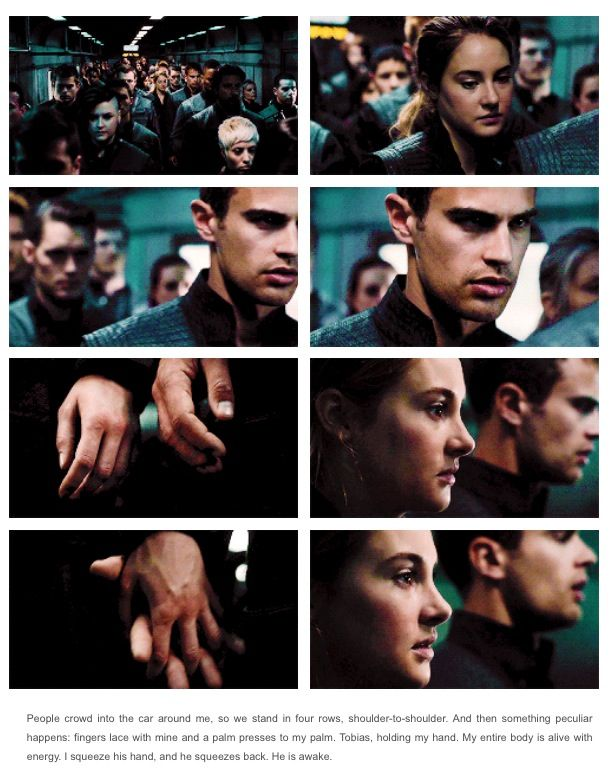 Tris and Four!!!  Love them.  I'm reading the book