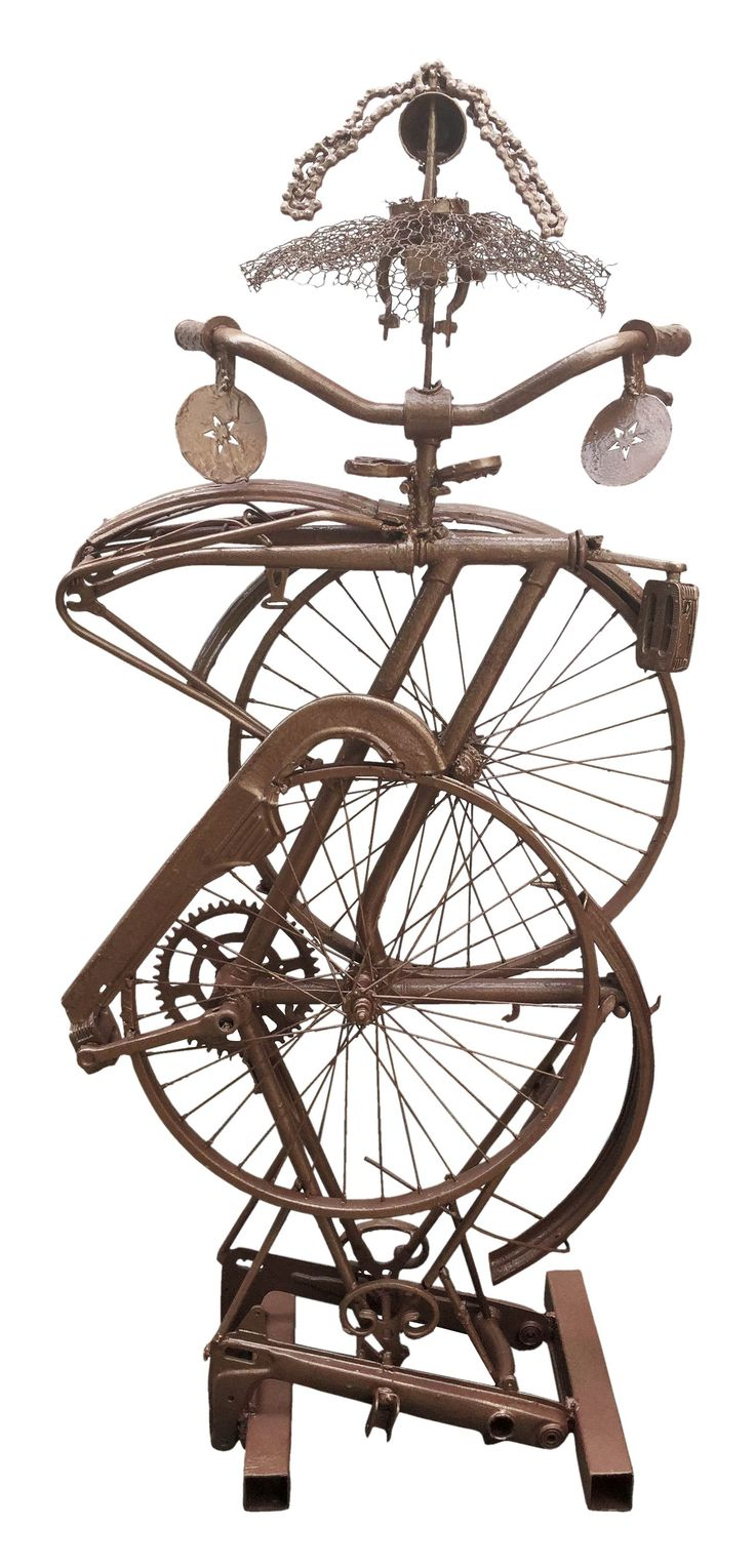 Bicycling in... art | Kate Horti. Talking about art somebody could ask, why bicycle? I answer, because bicycle has many lives... ...