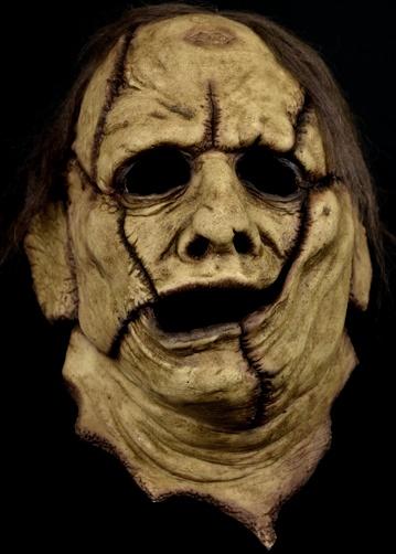 Leatherface Texas chainsaw massacre horror mask skinner latex horror face mask